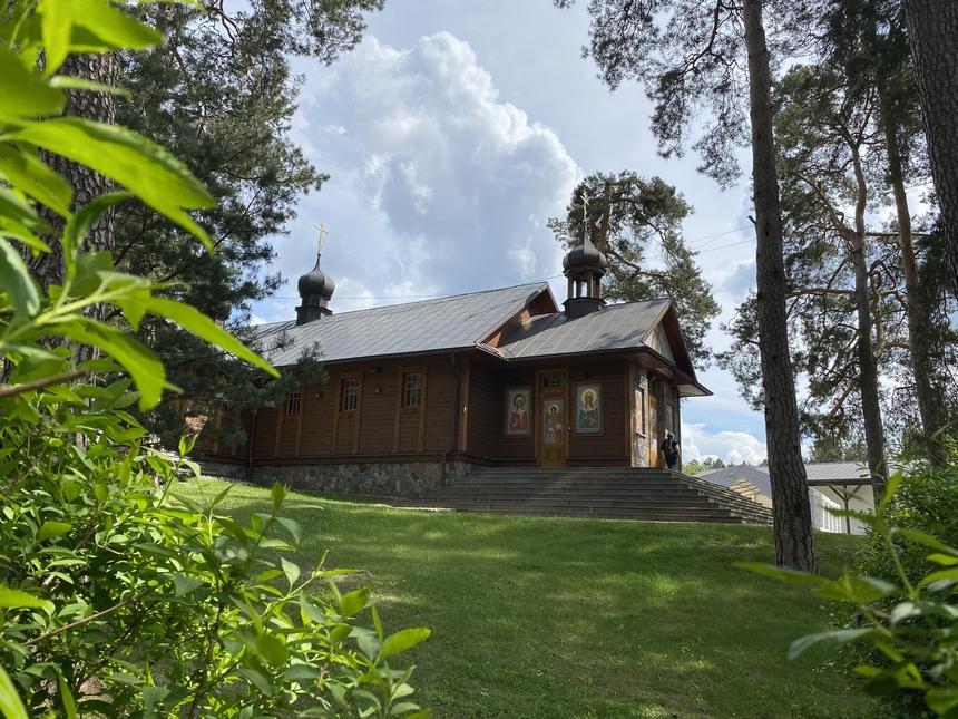 Cerkiew Przemienienia Pańskiego naŚwiętej Górze Grabarce