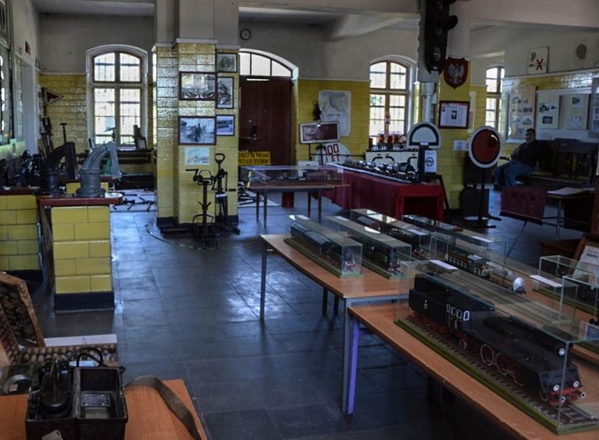 Muzeum Tradycji Kolejowej wWęgorzewie