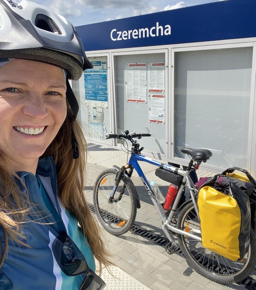 Początek trasy Green Velo - Czeremcha