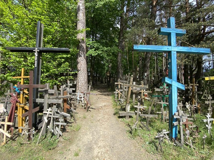 Święta Góra Grabarka zwana Górą Krzyży