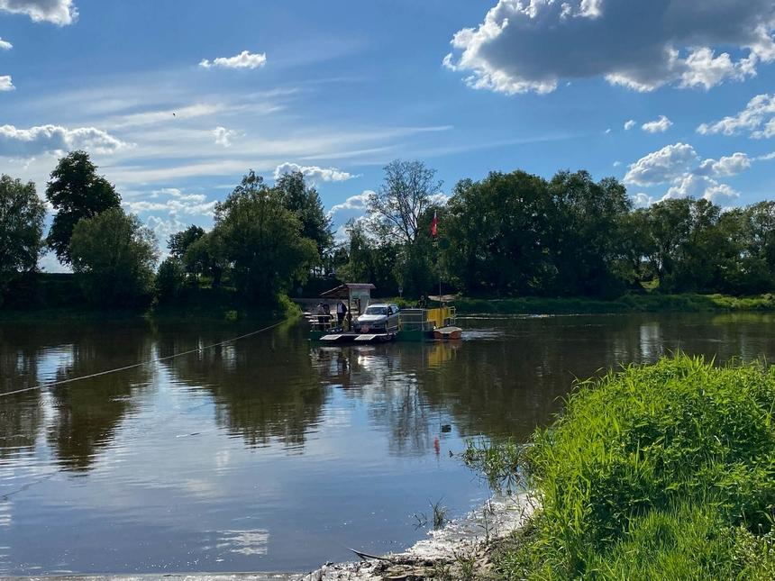Przeprawa promowa Mielnik – Zabuże - naszlaku Green Velo