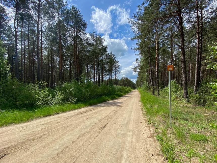 Szlak rowerowy Green Velo: Czeremcha - Borsuki